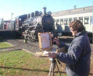 10-28-2020 Essex Steam Train Station