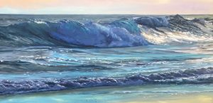 Jacqueline Jones Wave Painting Demonstration Live on ZOOM! Wednesday, April 22, 2020  10AM - 12PM - RSVP Required