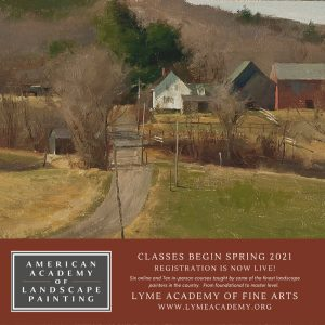 04-29-21  American Academy of Landscape Painting at the Lyme Academy of Fine Art